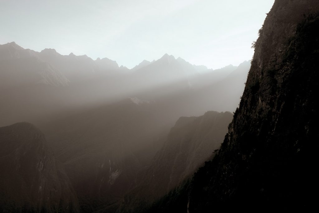 Sunny Machu Picchu